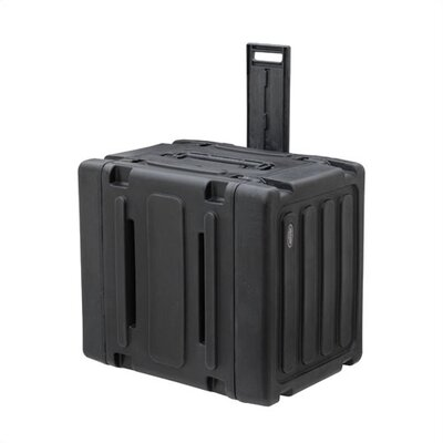 "SKB Cases 8U Roto Rolling Shock Rack Case - 20"" Deep"
