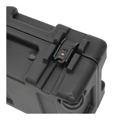 "SKB Cases Mil-Standard Roto Case w/ Dual Layer Foam and Wheels in Black: 52.5"" L x 12.125"" W x 8"" D (inside)"