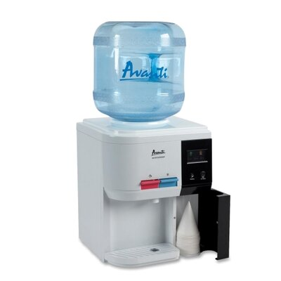 "Avanti Products Water Dispenser/Tabletop, 12-1/4""x12-3/4""x15-3/4"", White"