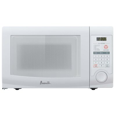 Avanti Products 0.7 Cubic Ft. Microwave in White