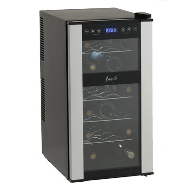 Avanti Products 18 Bottle Dual Zone Thermoelectric Wine Refrigerator