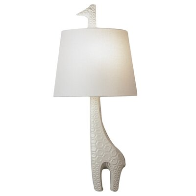 jonathan adler jonathan adler left facing giraffe 1 light wall sconce. Black Bedroom Furniture Sets. Home Design Ideas