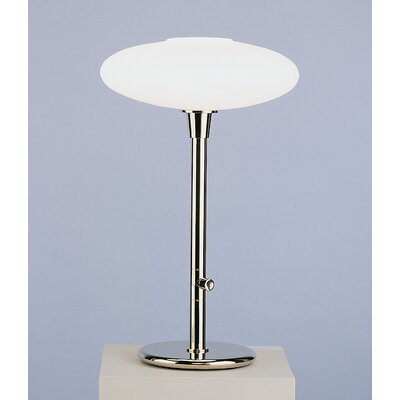 Robert Abbey Ovo  Table Lamp in Polished Nickel
