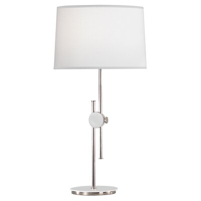 "Robert Abbey Spot Telescoping 23"" H Adjustable Table Lamp with Drum Shade"