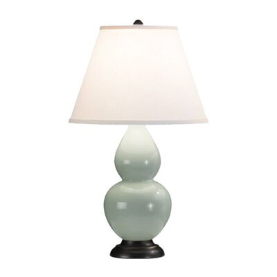 "Robert Abbey Double Gourd Small 22.75"" H Table Lamp with Empire Shade"