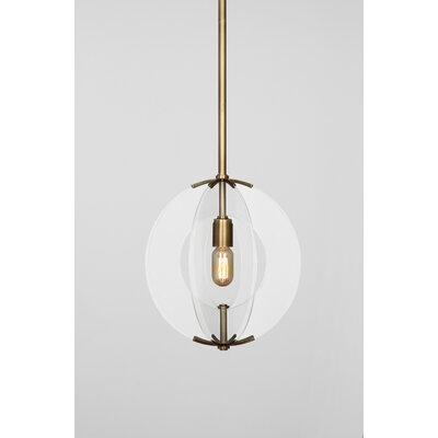 Robert Abbey Latitude 1 Light Pendant