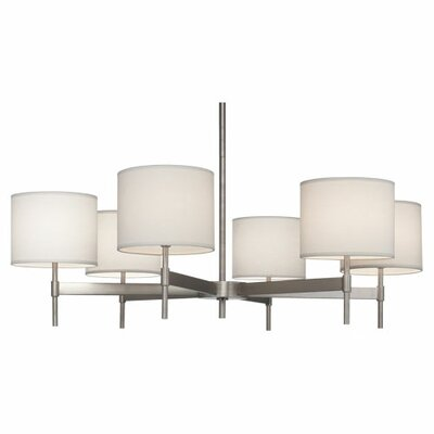 Robert Abbey Echo 6 Light Chandelier