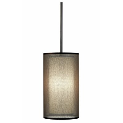 Saturnia Narrow 1 Light Drum Pendant