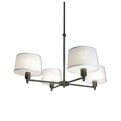 Robert Abbey Real Simple 4 Light Chandelier