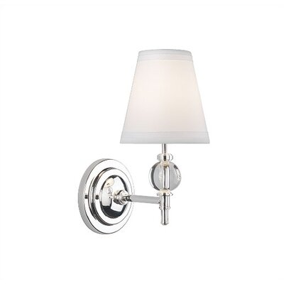 Robert Abbey The Muses Calliope 1 Light Wall Sconce