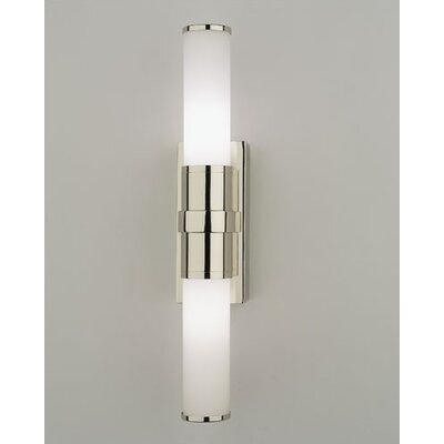 Halogen Bathroom Wall Sconces : Robert Abbey Roderick 2 Light Bath Vanity Light & Reviews Wayfair