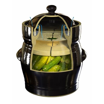 TSM Products Fermentation Crock with Lid