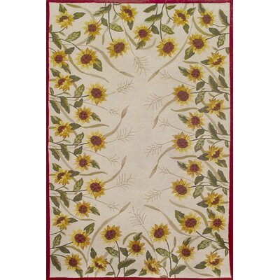 Duracord Outdoor Rugs Sawgrass Mills Sunflowers Brown Rug