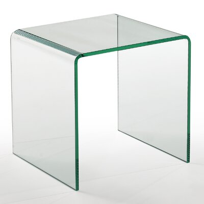 Creative Images International Bent End Table
