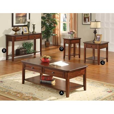 Winners Only, Inc. Topaz Coffee Table Set