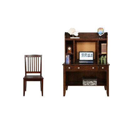 "Del Mar 44"" W puter Desk with Optional Hutch"