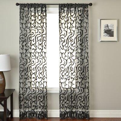 Softline Home Fashions Abel Rod Pocket Curtain Panel