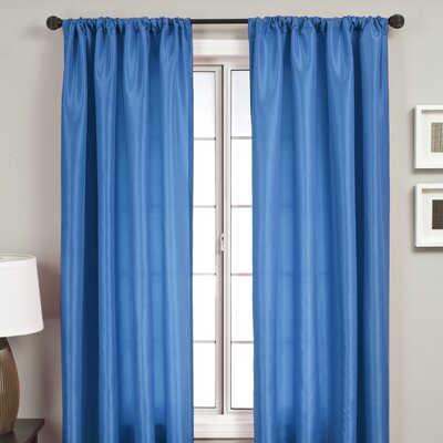 Softline Home Fashions Bella Kids Rod Pocket Curtain Single Panel