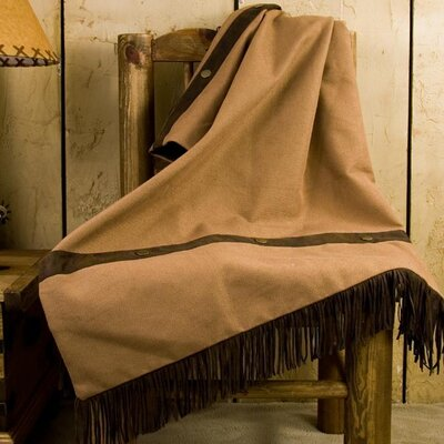 Durango Reversible Polyester Throw