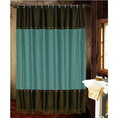 HiEnd Accents Cheyenne Polyester Shower Curtain