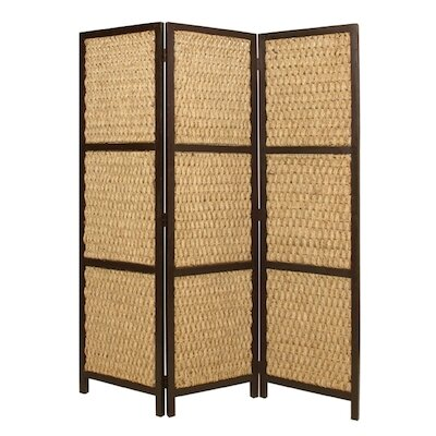 Screen Gems Three Panel Braided Rope Screen