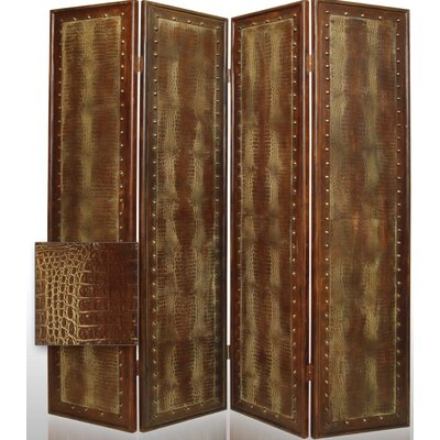 "Screen Gems 84"" x 76"" Reptile 4 Panel Room Divider"