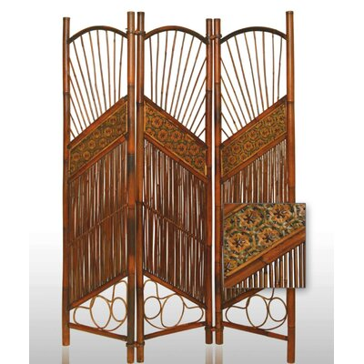 Sunset Bamboo Decorative Room Divider