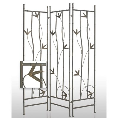 Iron Leaf Indoor / Outdoor Decorative Room Divider