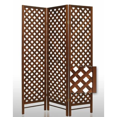 Trellis Wood Room Divider