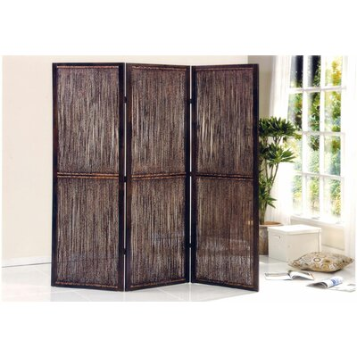 "Screen Gems 72"" x 72"" Waikoloa 3 Panel Room Divider"