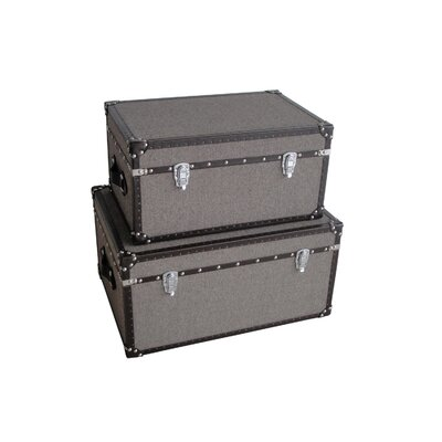 Screen Gems Mandalay Rectangle Trunk (Set of 2)
