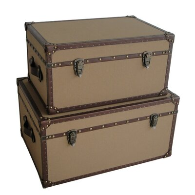 Screen Gems Valencia Rectangle Trunk (Set of 2)