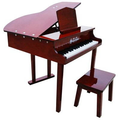 Schoenhut Concert Grand Piano with Opening Top in Mahogany