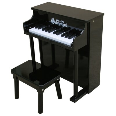 Schoenhut Traditional Spinet Piano in Black