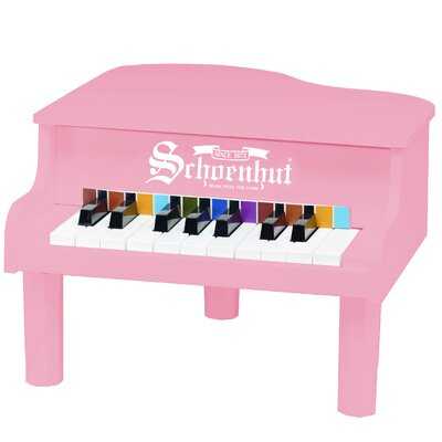 Schoenhut Mini Grand Piano in Pink