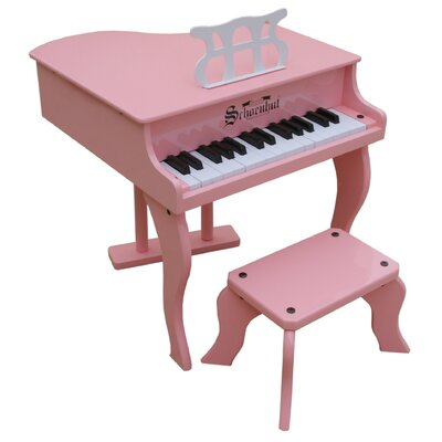 Schoenhut Fancy Baby Grand Piano in Pink