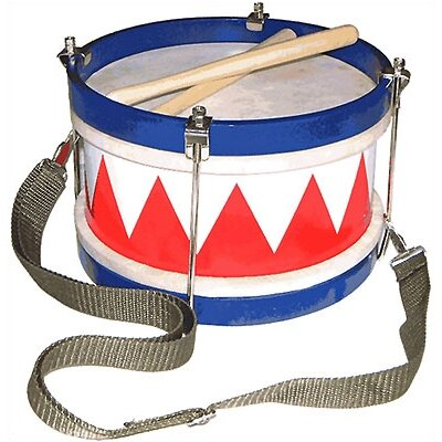 Schoenhut Toy Drum