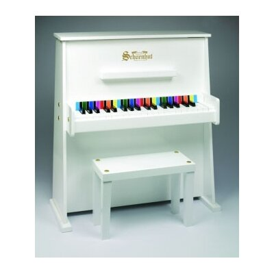 Schoenhut Day Care Durable Upright Piano in White