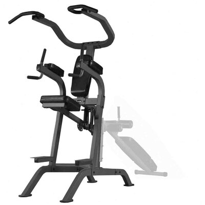X-Mark Commercial Rated Vertical Knee Raise Powerbase