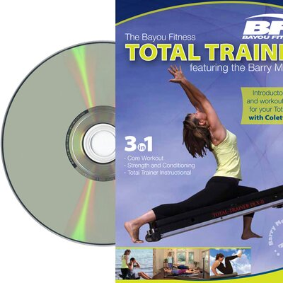 Bayou Fitness DVD Featuring the Barry Method