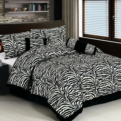 Karin maki zebra comforter set reviews wayfair Zebra print bedding