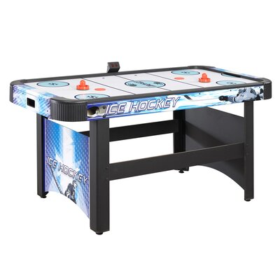 Face-Off 5 ft. Air Hockey Table w/ Electronic Scoring