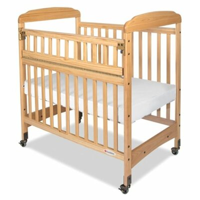 Foundations Serenity Safereach Hinged Clearview Compact Crib