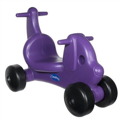 CarePlay Puppy Dog Ride - On / Walker with Handles in Purple