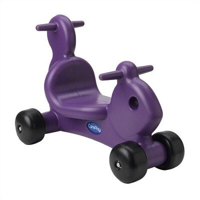 CarePlay Squirrel Ride - On / Walker with Handles in Purple