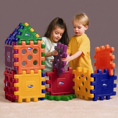 CarePlay Grid Blocks Building Set (Set of 16)