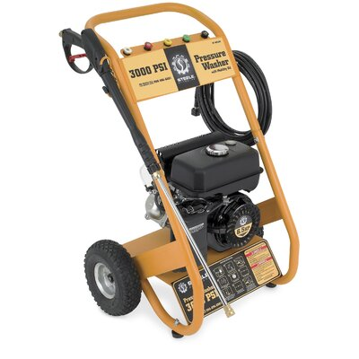 Steele Products 3000 PSI Portable Gas Powered Pressure Washer