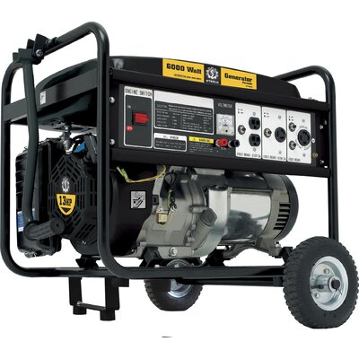 Steele Products 6,000 Watt Generator with Mobitily Kit