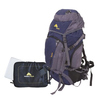 Asalto 2.0 Internal Frame Hiking Travel Backpack with Detachable Laptop Sleeve