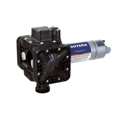 Sotera Series 400B Dual Diaphragm Chemical Transfer Pump with 115V AC Diaphragm Pump